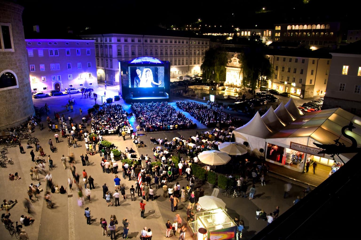 ежегодный зальцбургский фестиваль картинки